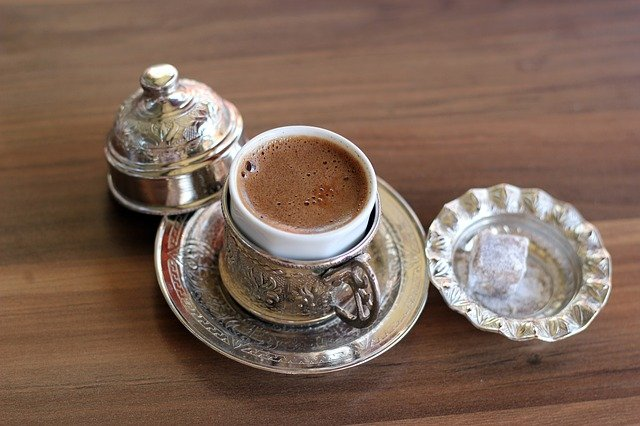 Turkish coffee is a feature of Turkish and Arab culture