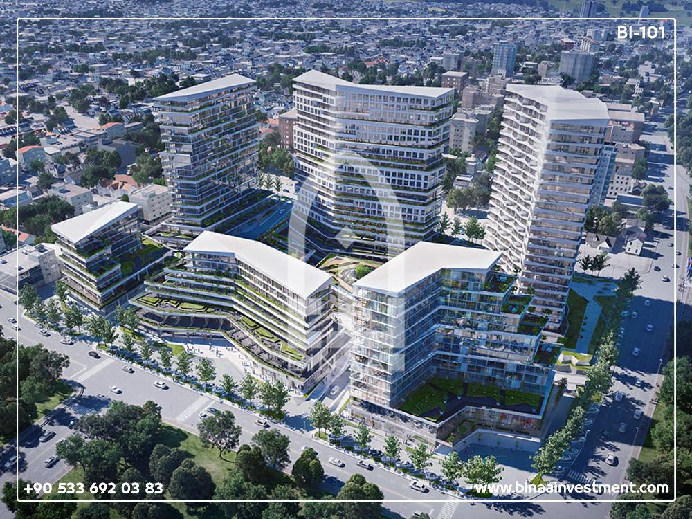 مشروع شقق باسين اكسبرس إسطنبول