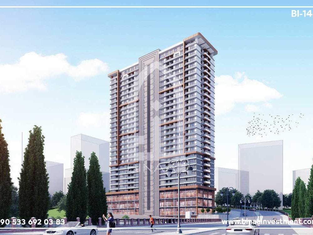مشروع شقق فندقية اسطنبول اسنيورت