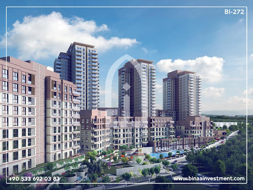 Istanbul Bahcesehir Apartments Project