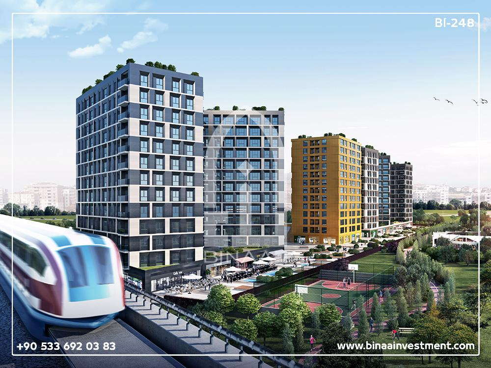 Istanbul Kucukcekmece Investment Apartment compound
