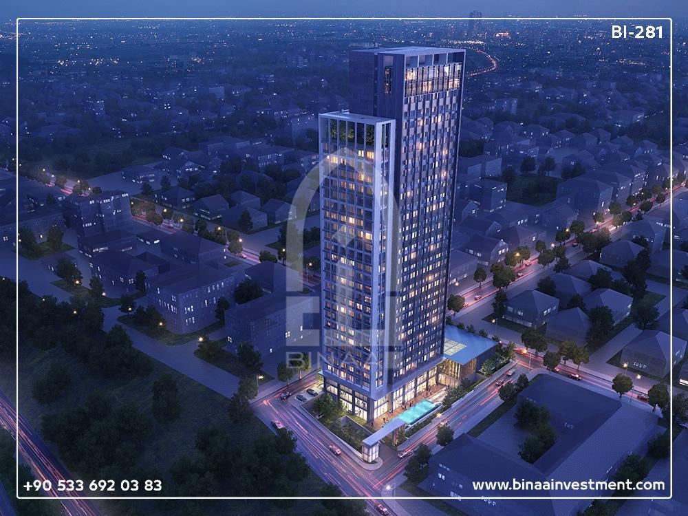 آپارتمان های برج عمرانیه استانبول