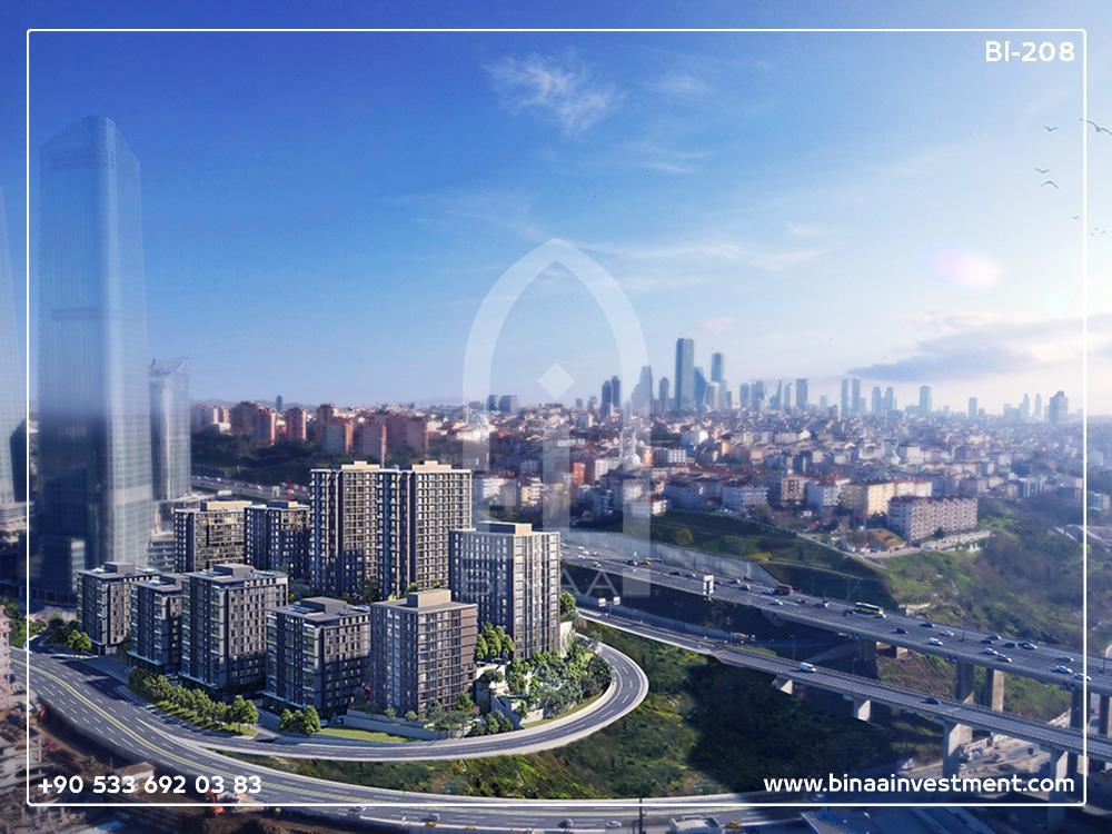 پروژه مسکونی در منطقه ساریر / استانبول
