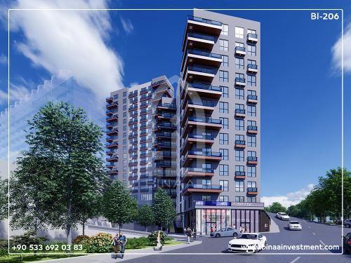 Istanbul Kagithane Apartment compound