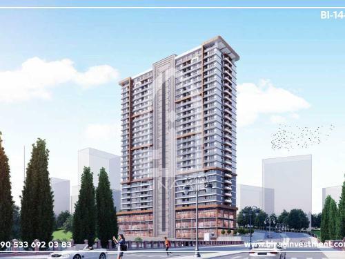 پروژه هتل آپارتمان های اسنیورت استانبول