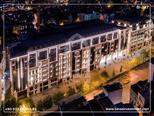 مجتمع مسکونی در تکسیم استانبول