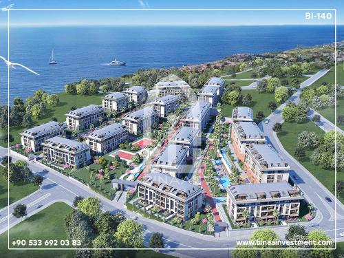 Istanbul Sea Apartments Complex Beylikduzu