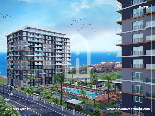 Istanbul Buyukcekmece sea apartments project